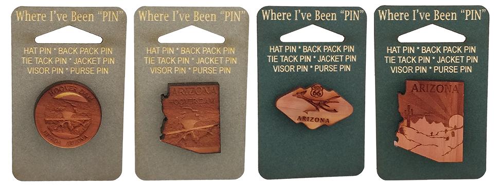 Arizona Pin Set