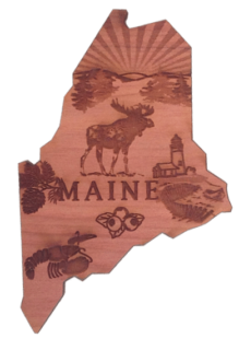 Maine Shape Magnet